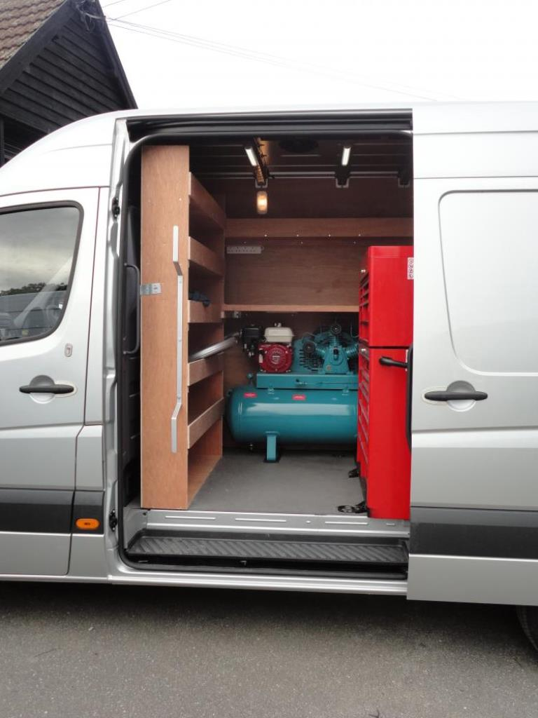 Van Racking Tool Storage 1