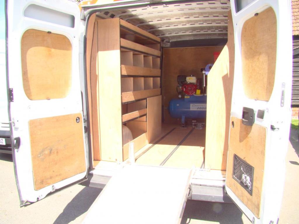 Van Racking Tool Storage 4