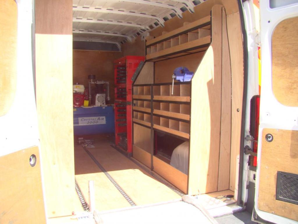 Van Racking Tool Storage 5