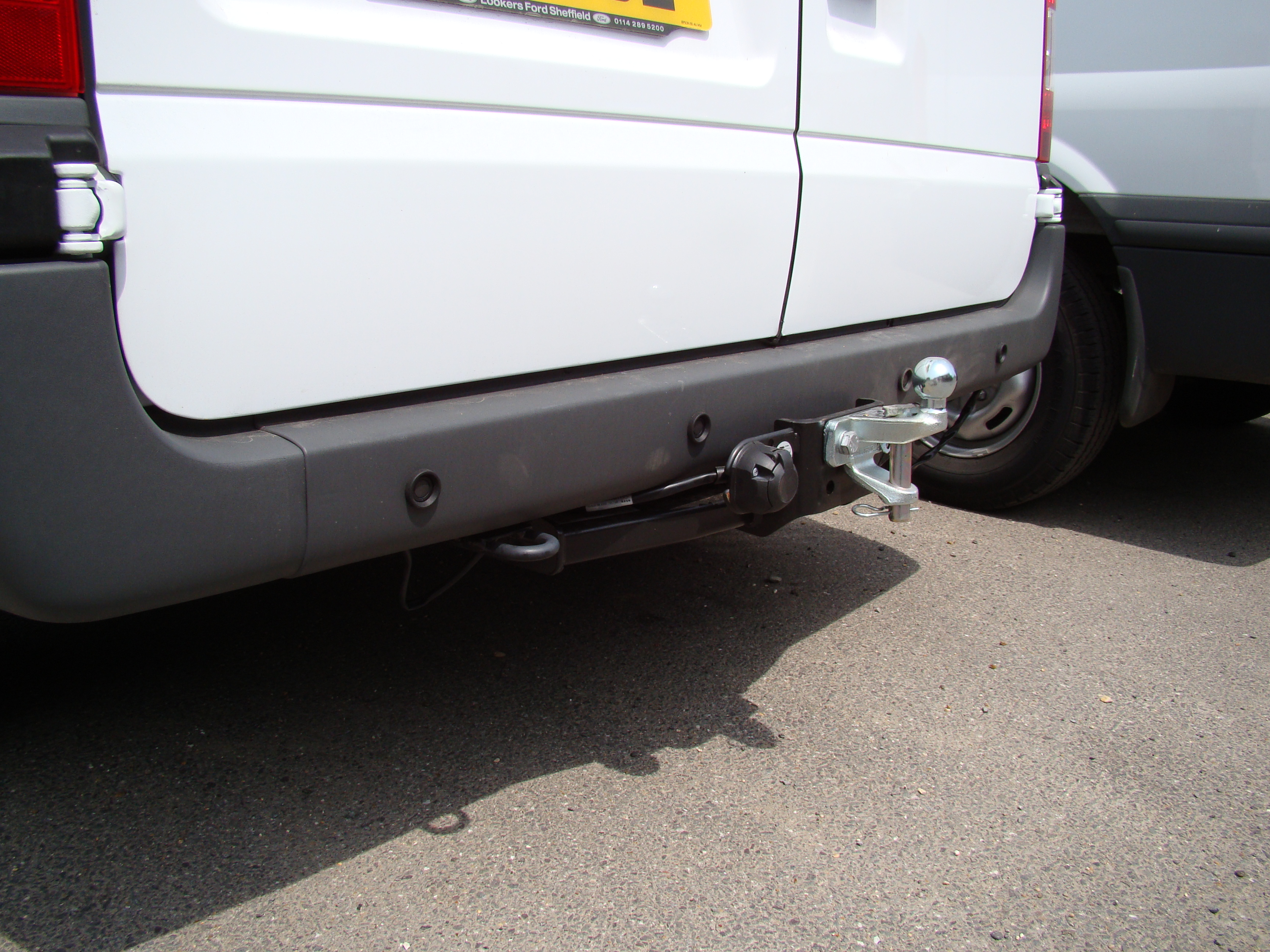 Standard Towbar with Ball Pin Coupling