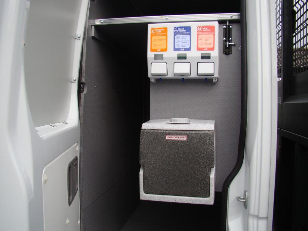 Crew Cab Conversion Van Tool Storage 4