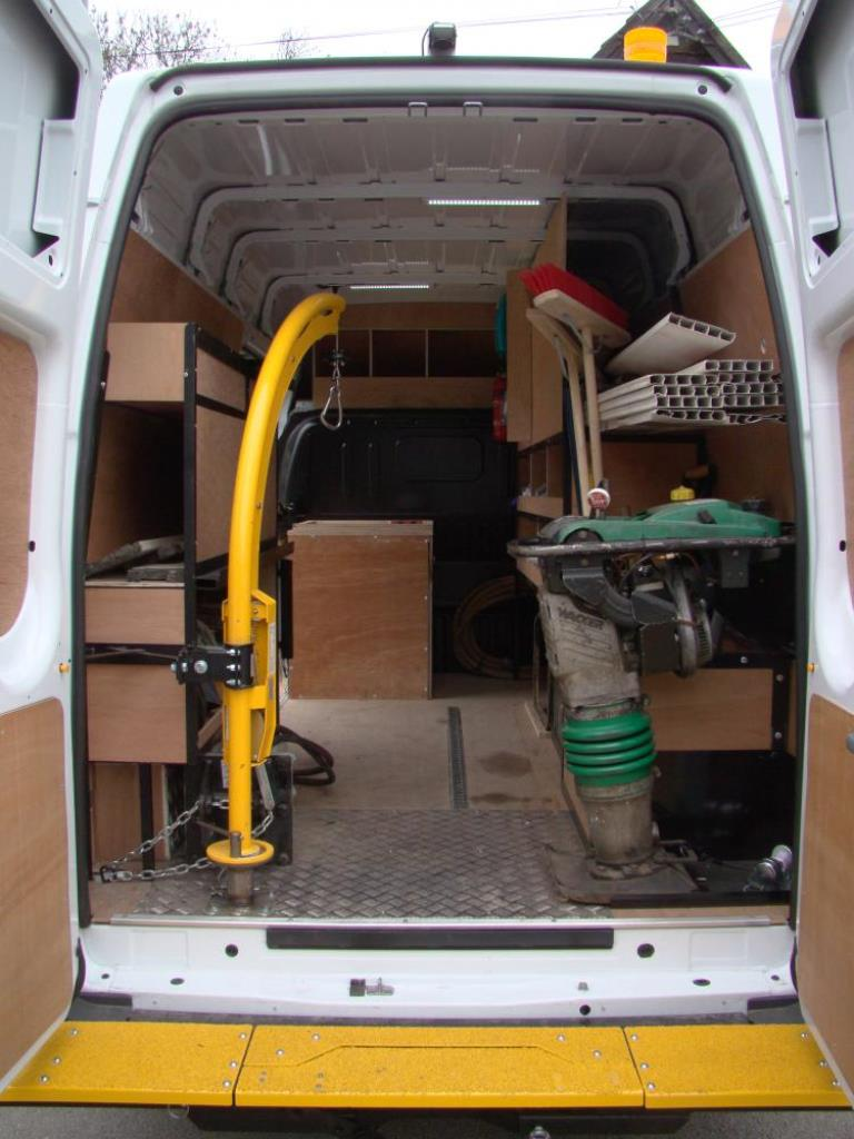 Utility Spec Racking Systems Protectavan