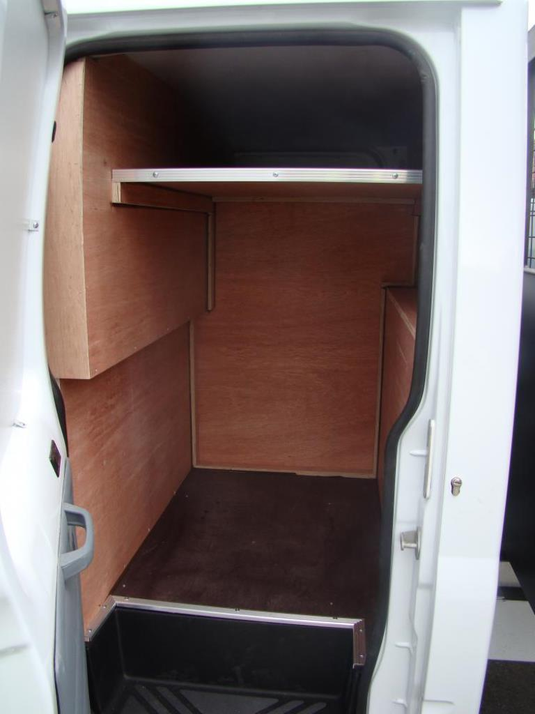 Crew Cab Conversion Crew Van Tool Storage 1