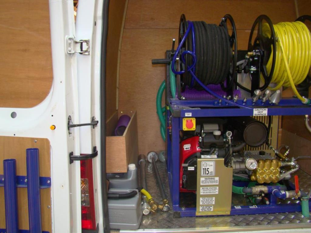 Drainage Van Racking Systems 1