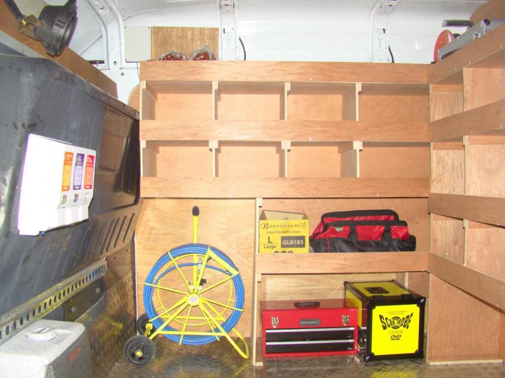 Drainage Van Racking Systems