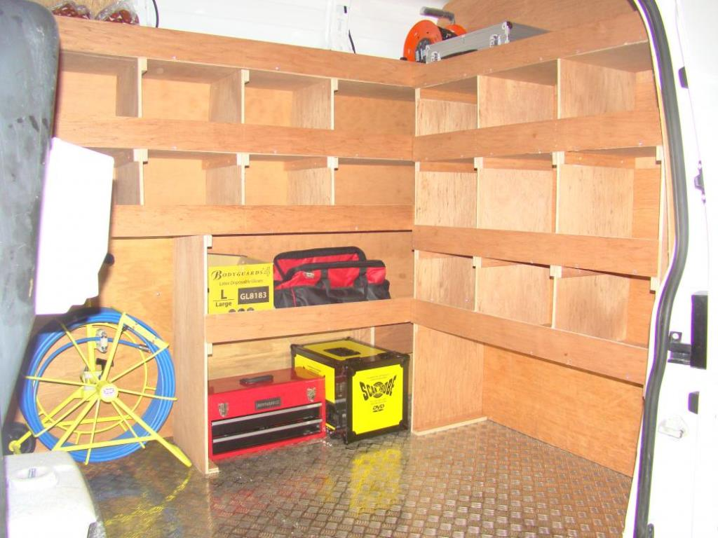 Drainage Van Racking Systems 4
