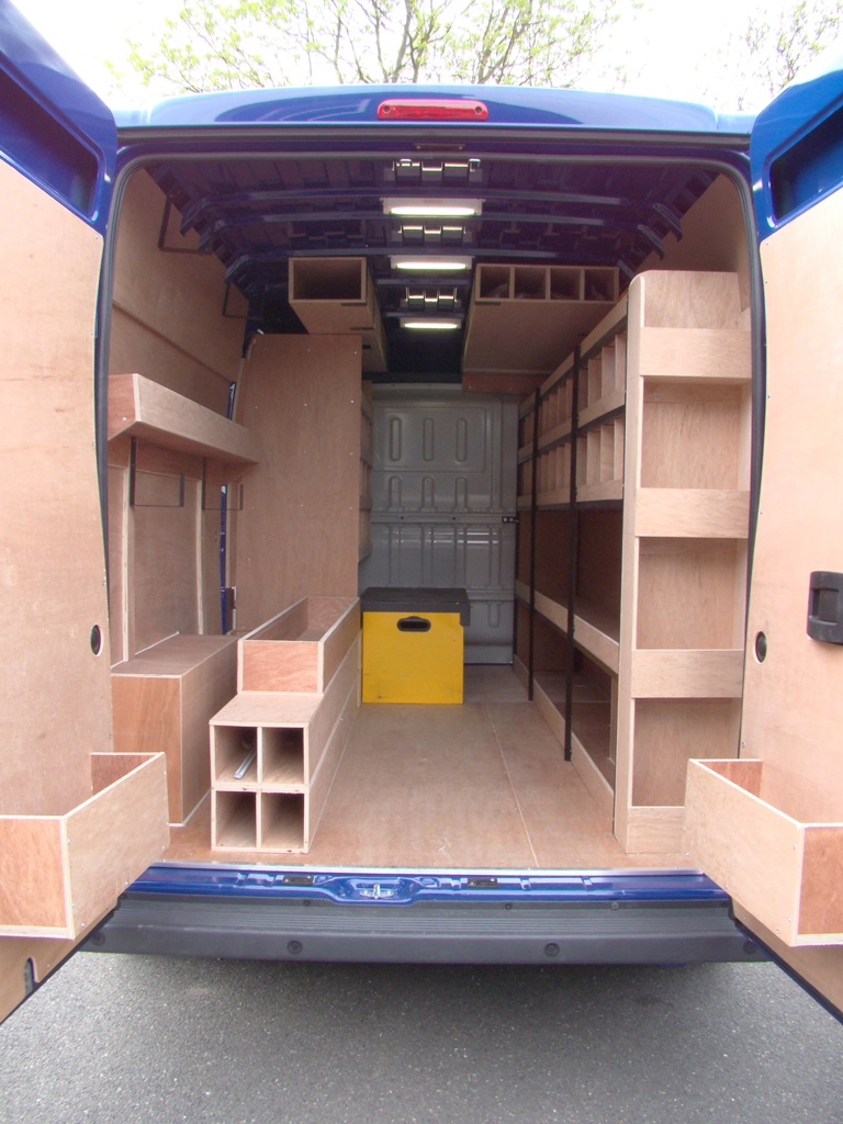 Citroen Relay Metal Framed Racking System