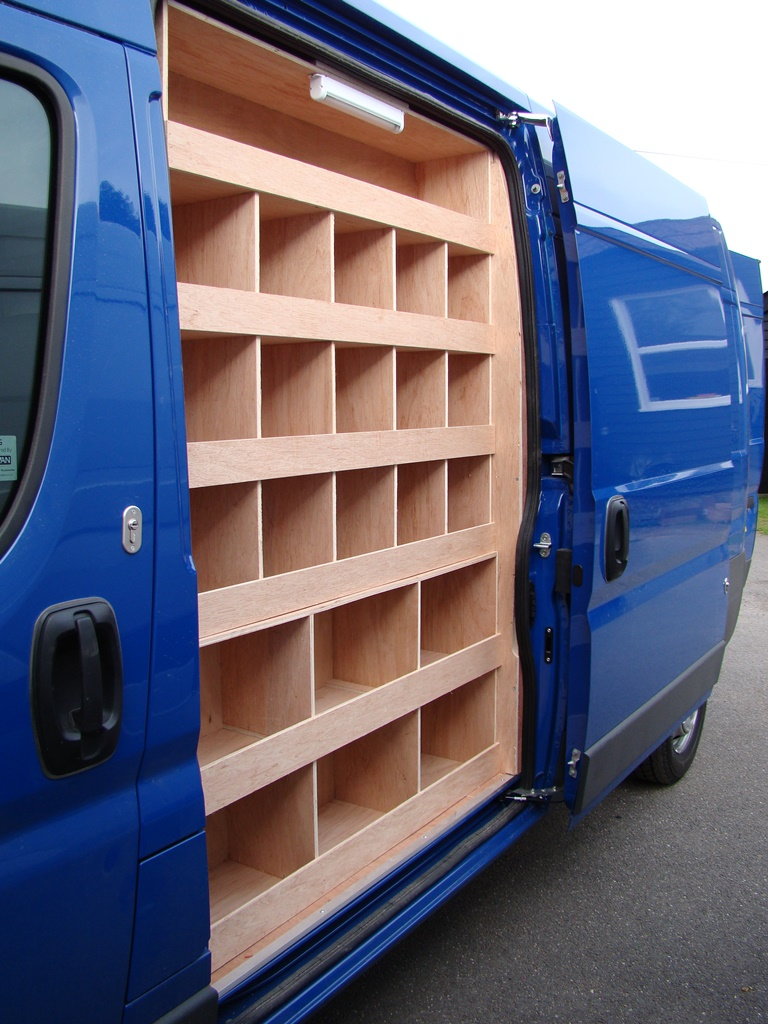 Citroen Relay Side Door Pigeon Hole Racking
