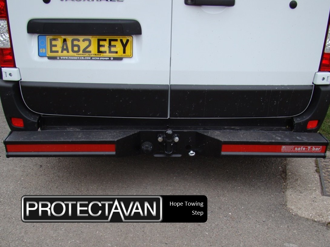 Rear access steps we can supply and fit a wide range of step bumpers and rear reinforcing bars for vans aloadofball Images