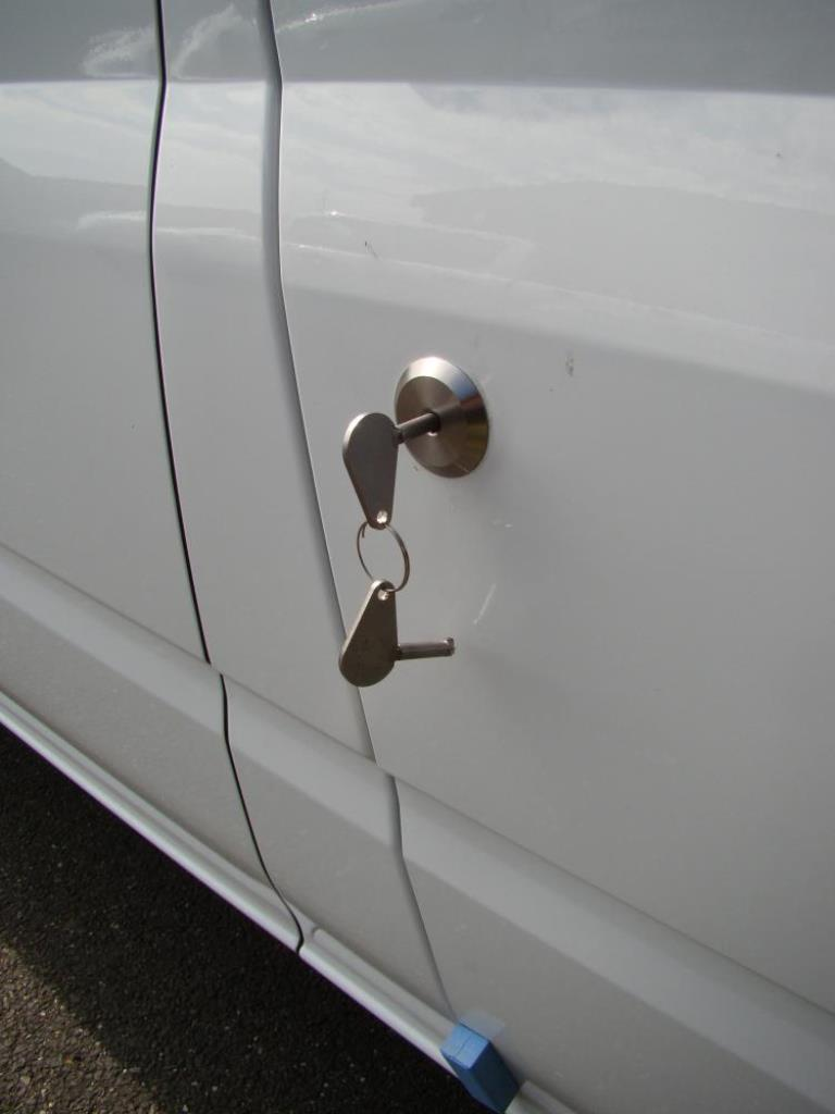 ford transit high security replacement door lock
