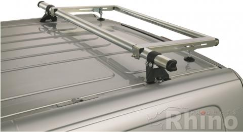 Ford Transit Rhino Roof Bars and Roller