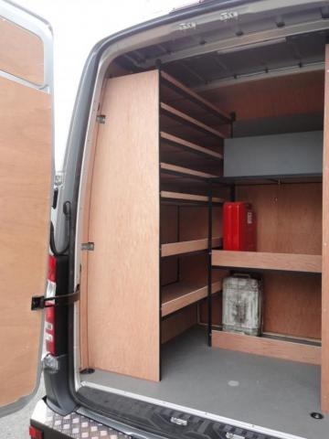 Van Racking Tool Storage 2