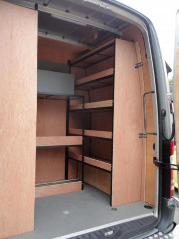 Van Racking Tool Storage 3