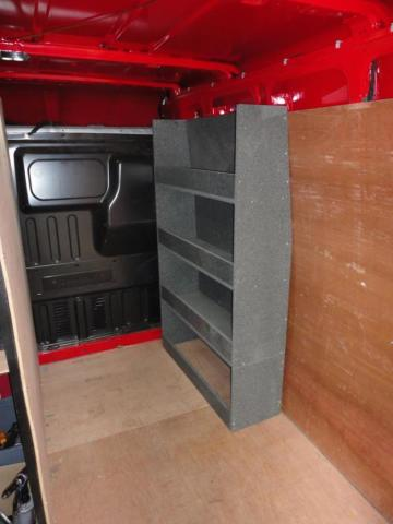 Ford Transit Rack Made from Ecosheet