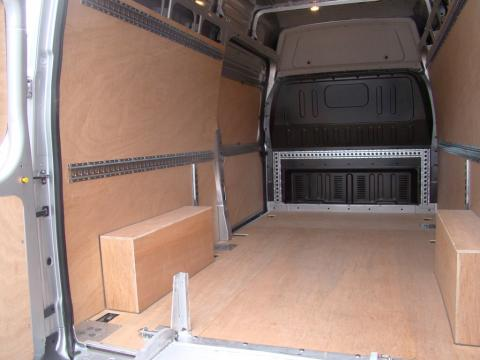 Van With Ply-Lining
