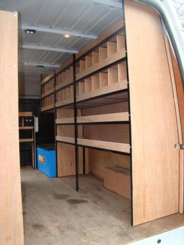 Metal Framed Racking for Vans 4