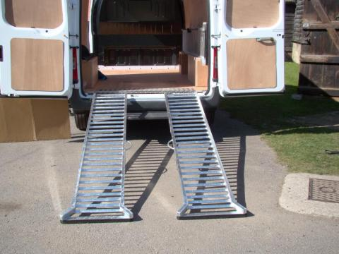 Lawnmower Ramp Removable Ramps 3