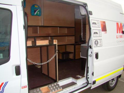 Murphy Van Racking System Utility Spec Side Door