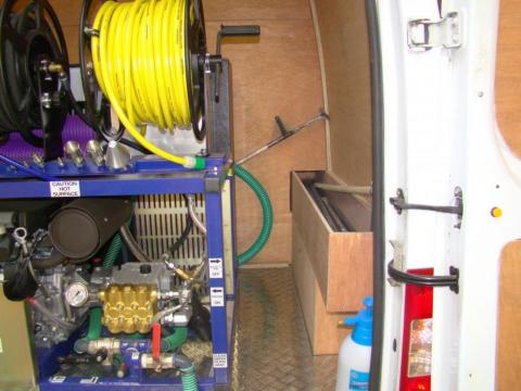 Drainage Van Racking Systems 2