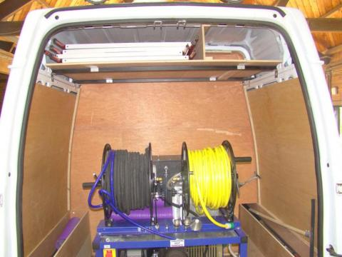 Drainage Van Racking Systems 5