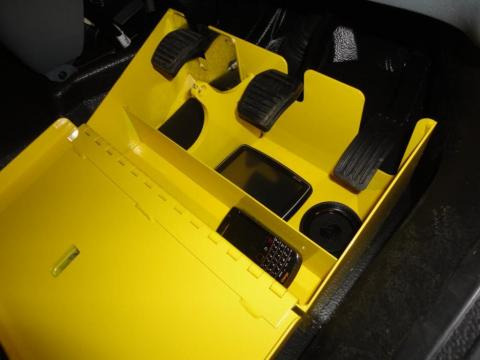Ford Transit Pedal Box Yellow