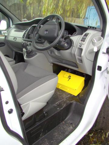 Vauxhall Vivaro Pedal Box Yellow