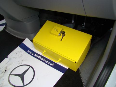 Mercedes Sprinter Pedal Box Yellow